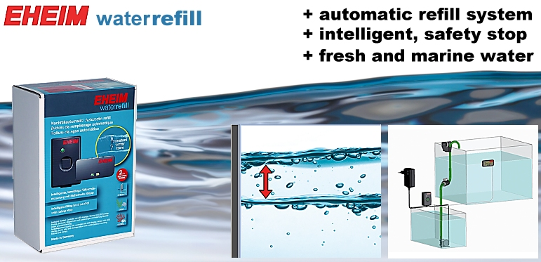 +++NEW EHEIM waterrefill -intelligent refill system-