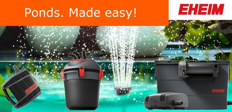 +++NEW++ EHEIM Garden Pond Equipment
