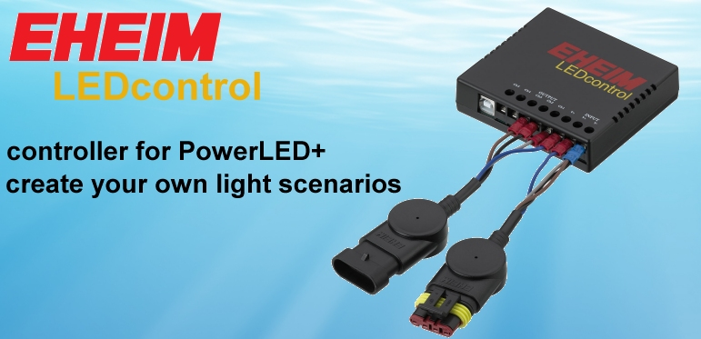 now available: EHEIM LEDControl for PowerLED+