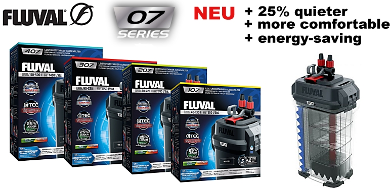 +++NEW Fluval external filters 07 series+++