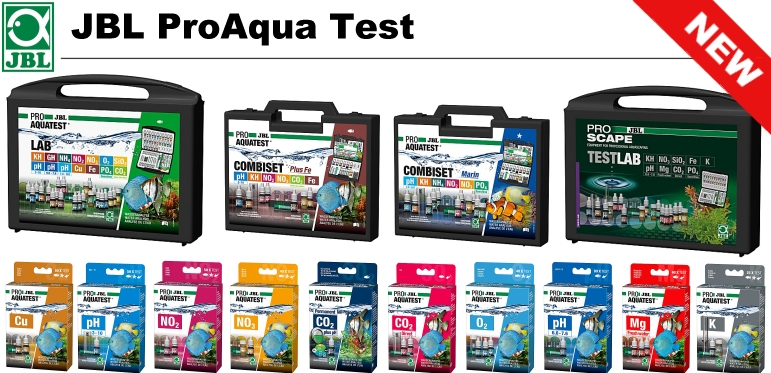 +++new available and much more better JBL ProAqua Water Tests+++