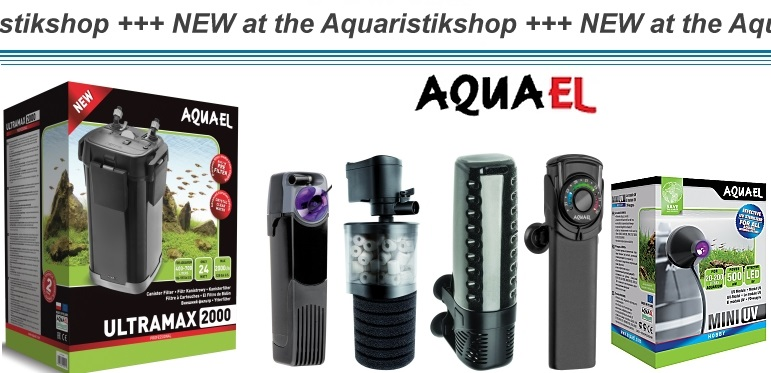 AQUAEL now at the Aquaristikshop