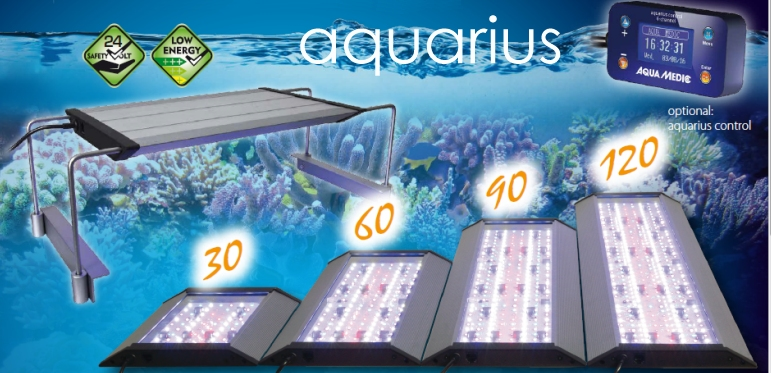 +++NEW Aqua Medic aquarius - 6 channel LED Light+++