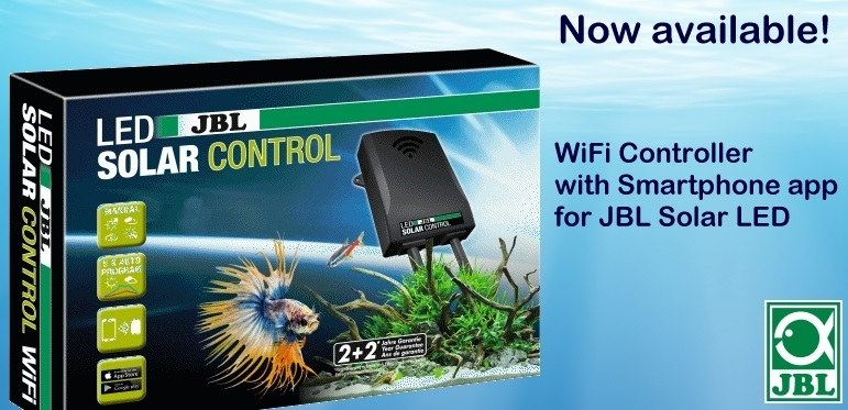 +++NEW JBL LED Solar Control WiFi Controller with Smartphone app+++