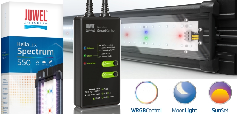 +++NEW Juwel HeliaLux Spectrum & Smart Control+++