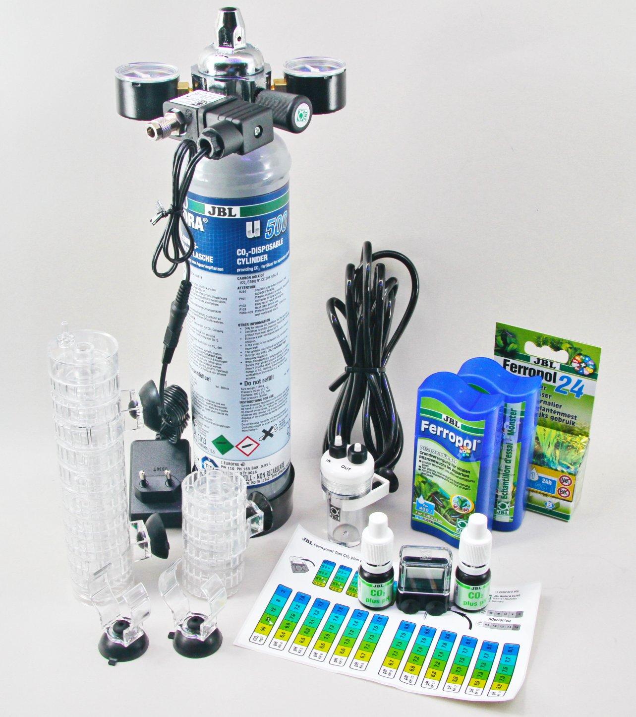 Shop JBL ProFlora u502 CO2 Complete System