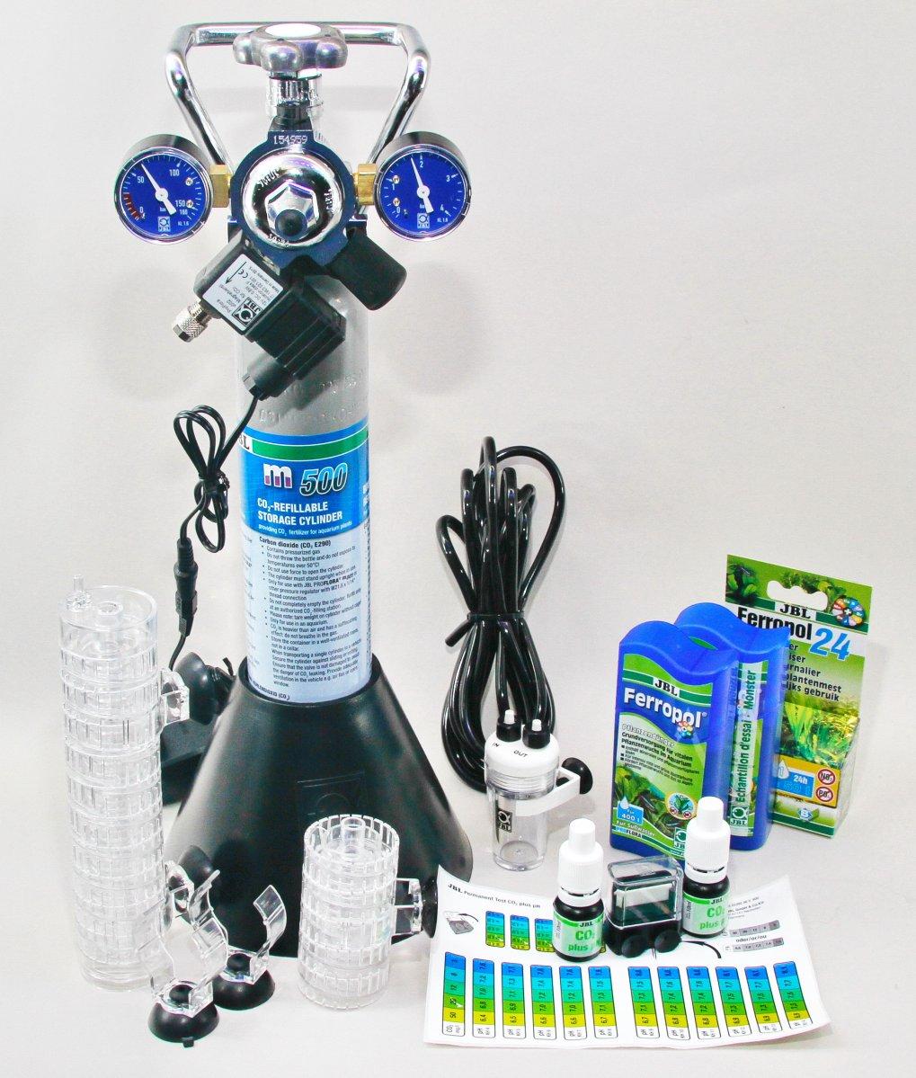 Shop JBL ProFlora m502 CO2 Complete System