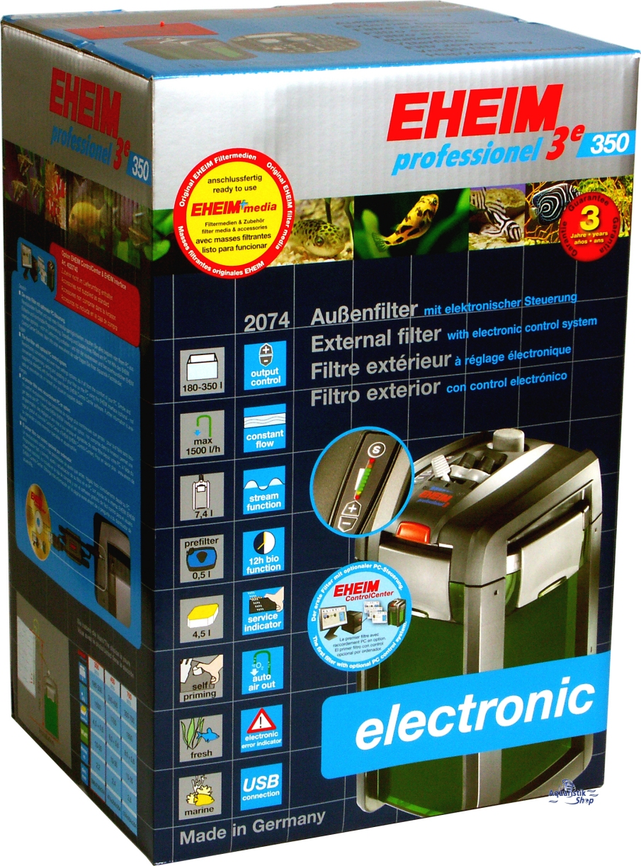 Shop EHEIM professionel 3e 350 electronic USB -2074-