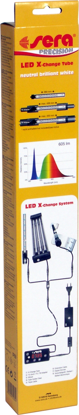 Preise sera LED X-Change Tube neutral brilliant white