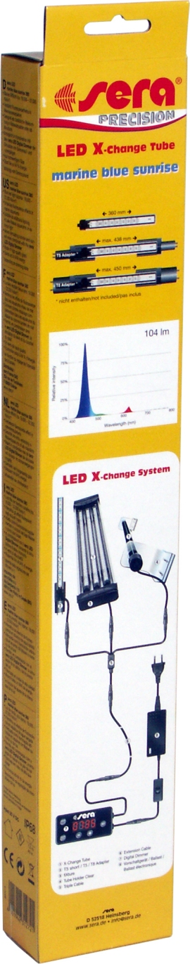 Preise sera LED X-Change Tube marine blue sunrise