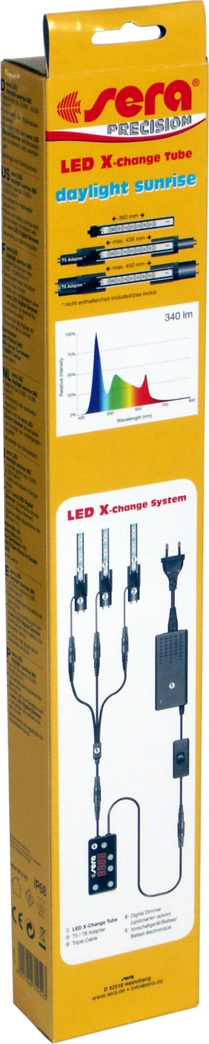 Preise sera LED X-Change Tube daylight sunrise
