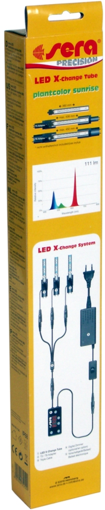 Preise sera LED X-Change Tube plantcolor sunrise