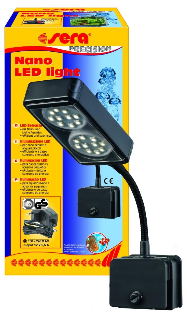 Shop sera Nano LED light Clip Lamp