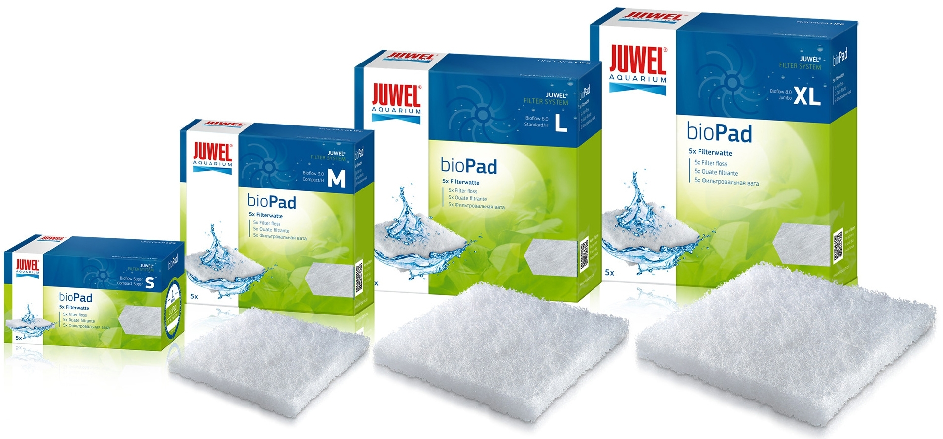 Shop Juwel bioPad Filter Poly Pads