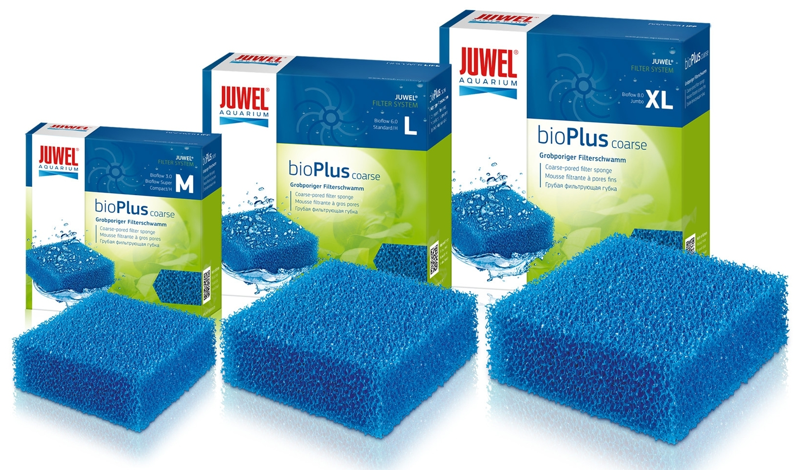 Shop Juwel bioPlus coarse -Blue Filter Sponge coarse-