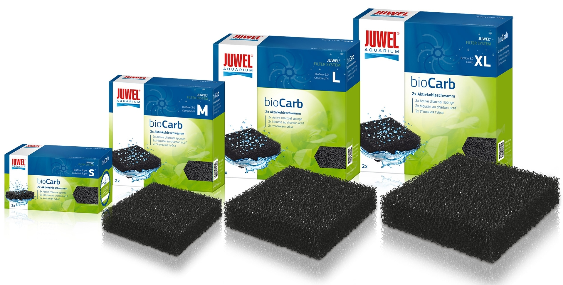 Shop Juwel bioCarb -active carbon sponge-