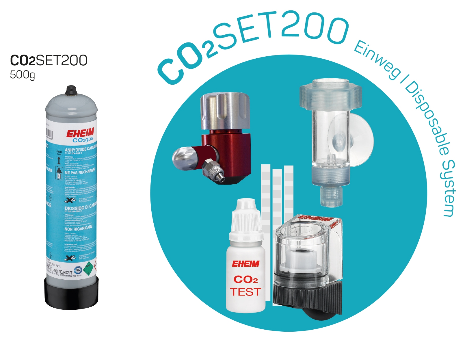 Shop EHEIM CO2 Set 200