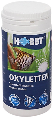 Hobby oxyletten for Oxygen tablets for fish