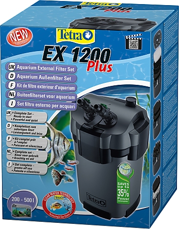Tetra External Filter Complete Kit EX 1200 Plus