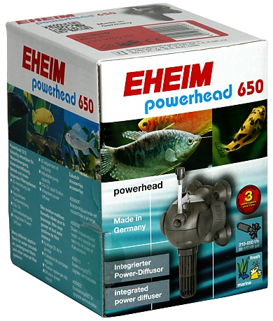 EHEIM aquaball Powerhead 650 -1212-