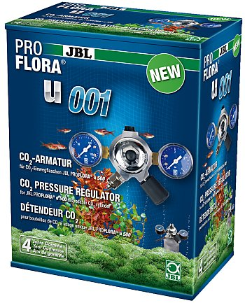 JBL ProFlora u001 CO2 pressure regulator