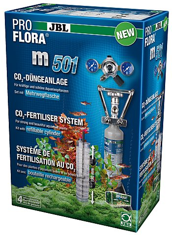 JBL ProFlora m501 CO2 Complete System