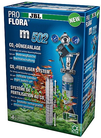 JBL ProFlora m502 CO2 Complete System