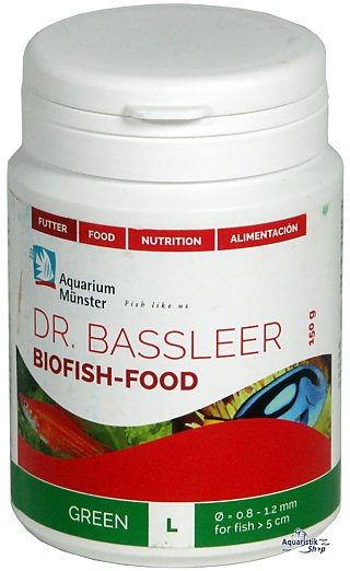 Dr. Bassleer Biofish Food Green L