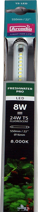 Arcadia T5 LED Freshwater Pro -Fluorescent bulb replacement-