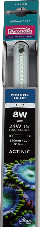 Arcadia T5 LED Marine Blue -Fluorescent bulb replacement-