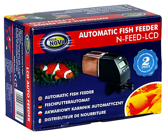 Aqua Nova Automatic Fish Feeder electronic