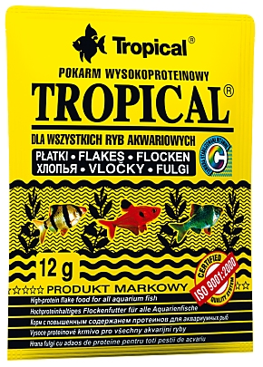 Tropical -Hauptfutterflocken-