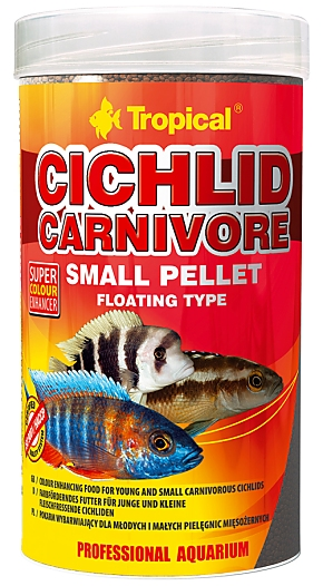 Tropical Cichlid Carnivore Small Pellet
