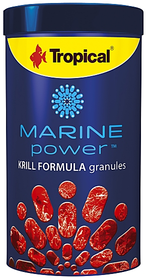 Tropical Marine Power Krill Granules