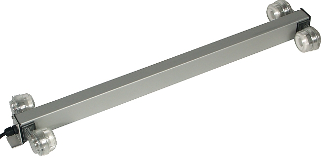 Aqua Light Aluminium Double Light Bar T5