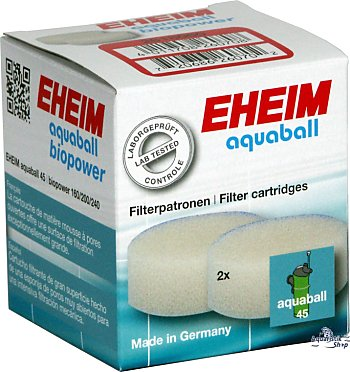 EHEIM Filter cartridges for aquaball/biopower