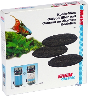 EHEIM Active carbon pads for 2217