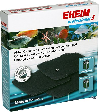 EHEIM Activated carbon pad for 2071/2073/2075