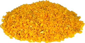 Color quartz aquarium gravel -Yellow- 2-3 mm