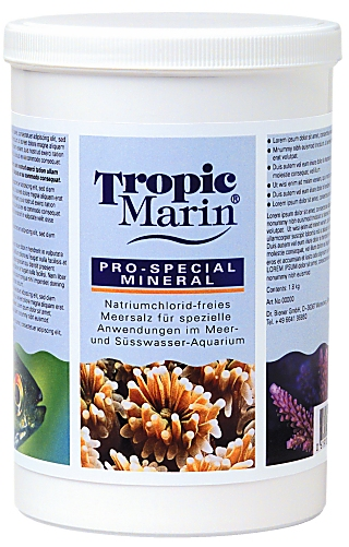 Tropic Marin Pro-Special Mineral