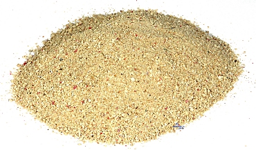 Coral sand (Coral Gravel) extra fine 0,5 - 1,0 mm