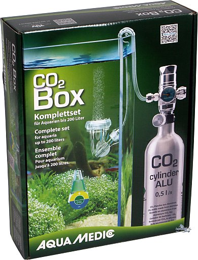 Aqua Medic CO2 Box -Fertilizer System-