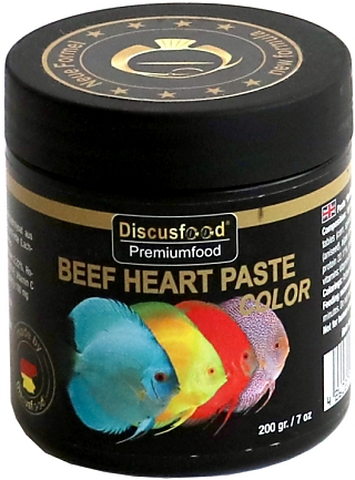Discusfood Beaf Heart Paste V+ Color