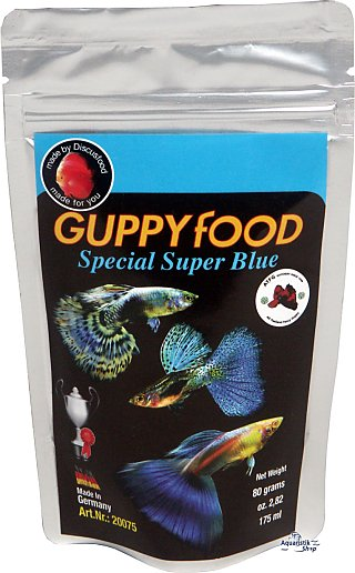 Discusfood Guppy Special Super blue
