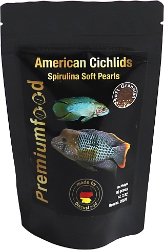 Discusfood South American Cichlid spirulina pearls
