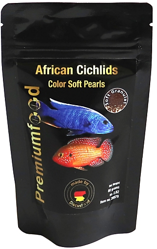 Discusfood African Cichlid colour pearls