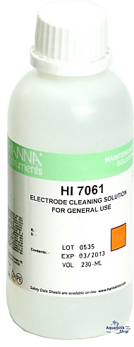 HANNA Cleaning solution for electrodes