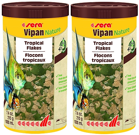 Sera vipan Staple Food 2x1000 ml