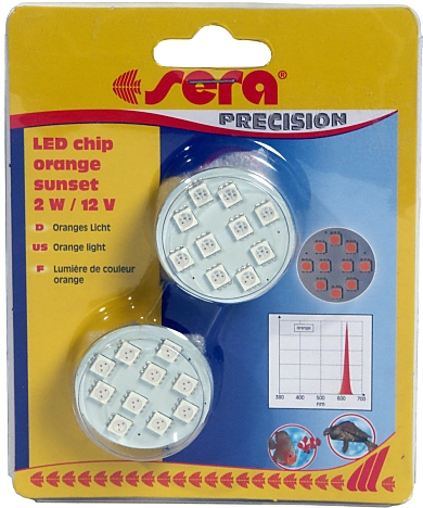 Sera LED Chip orange sunset