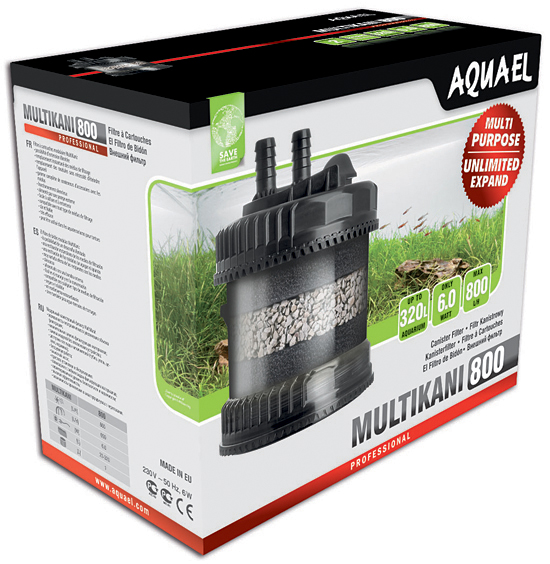 AQUAEL External Filter Multikani 800